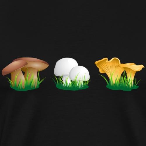 Pilze - Männer Premium T-Shirt
