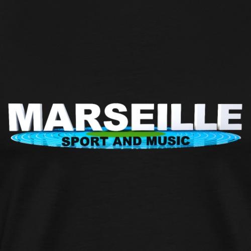 MARSEILLE SPORT AND MUSIC - T-shirt Premium Homme
