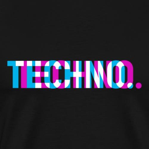 Techno - T-shirt Premium Homme