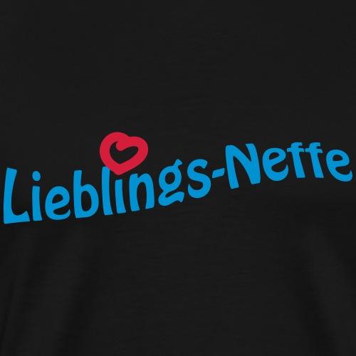 Lieblingsneffe - Männer Premium T-Shirt