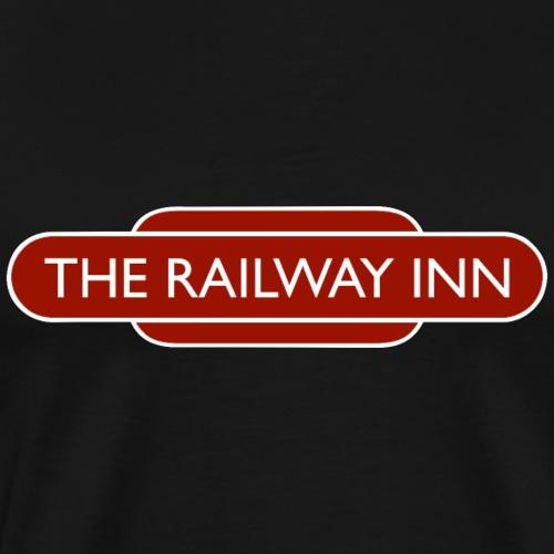 The Railway Inn - Men's Premium T-Shirt