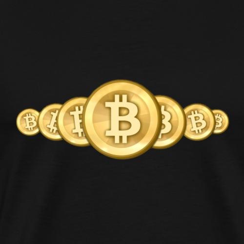 Bitcoin 6 - Männer Premium T-Shirt