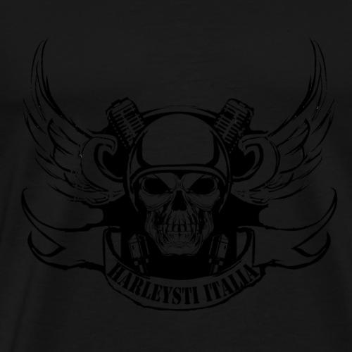 Harleysti Italia by Mescal - Maglietta Premium da uomo