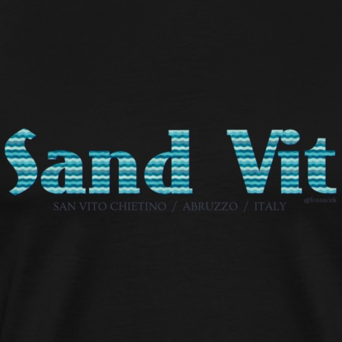 Sand Vit - Maglietta Premium da uomo