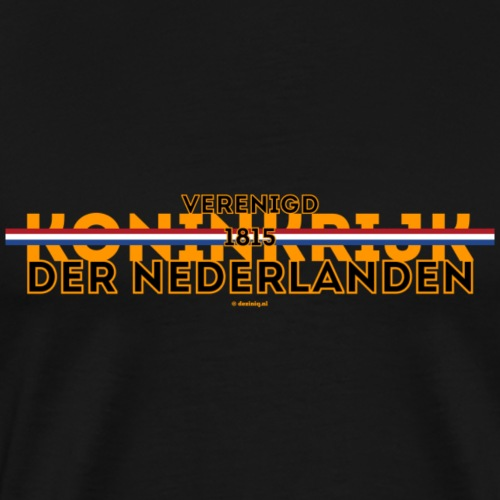 Verenigd Koninkrijk der Nederlanden - Mannen Premium T-shirt