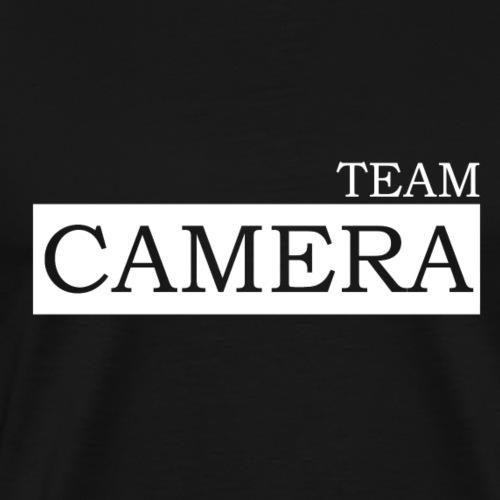 Team Camera white - Männer Premium T-Shirt