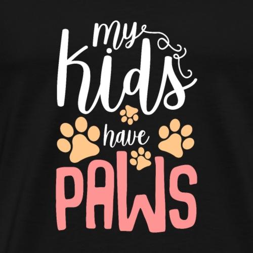 Meine Kinder sind meine Tiere Katzen, Hunde-Shirt