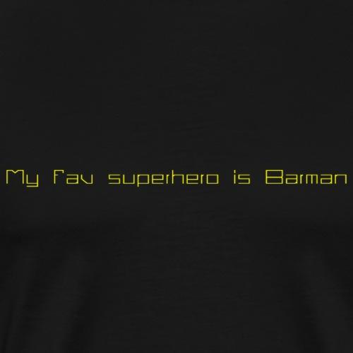 Barman2 - Camiseta premium hombre