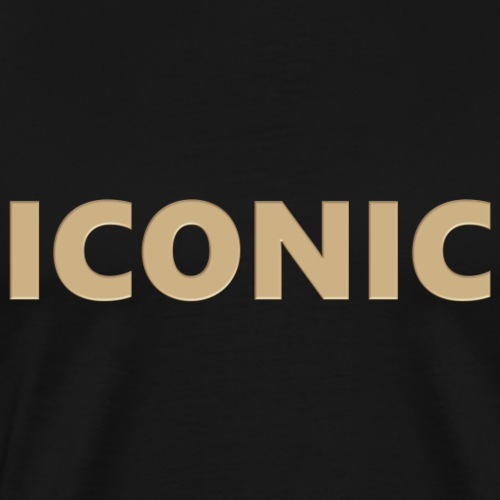 ICONIC [Cyber Glam Collection ] - T-shirt Premium Homme