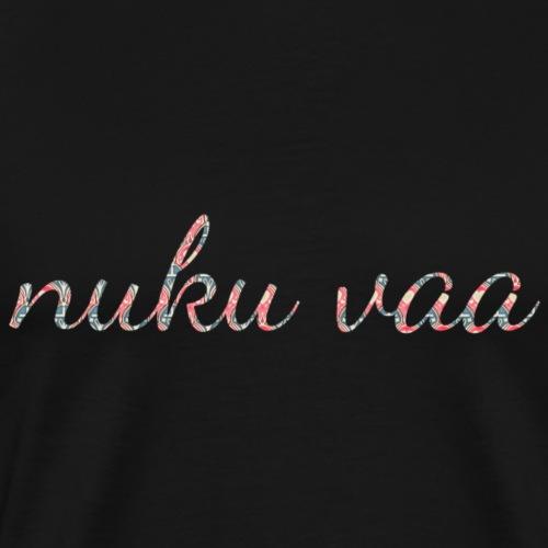 Nuku vaa - kukallinen - Miesten premium t-paita
