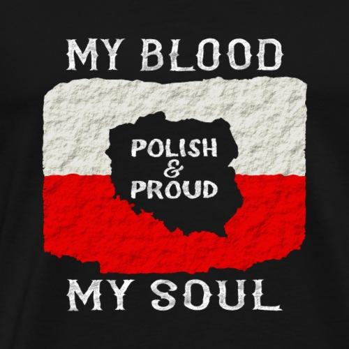 Pole und Stolz - Männer Premium T-Shirt