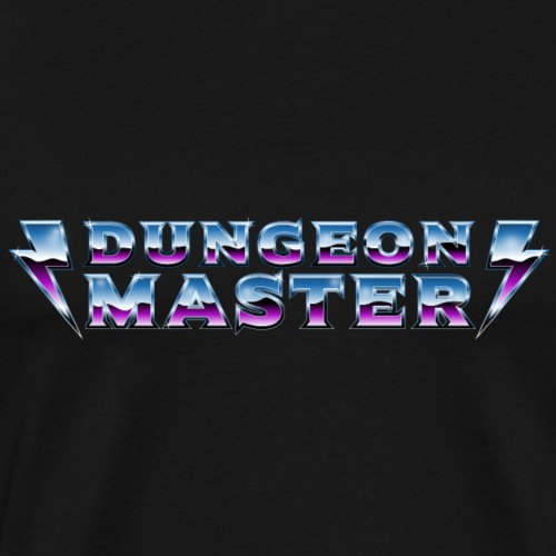 Dungeon Master 80s - Men's Premium T-Shirt