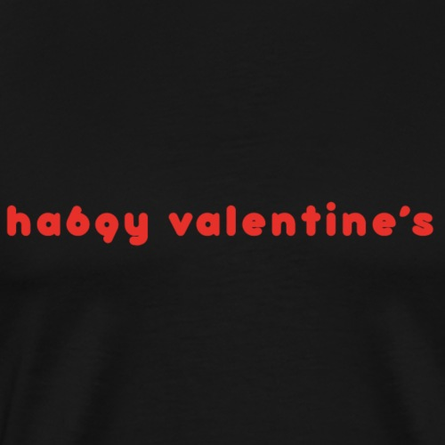 Valentine's - Camiseta premium hombre