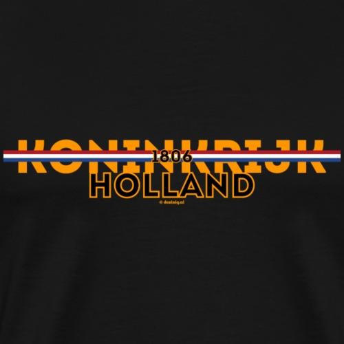 Koninkrijk Holland - Mannen Premium T-shirt