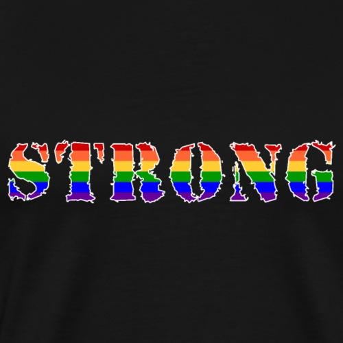 strong2 - Männer Premium T-Shirt