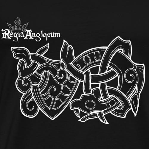 Regia TShirt Worm Clearbackground white - Men's Premium T-Shirt
