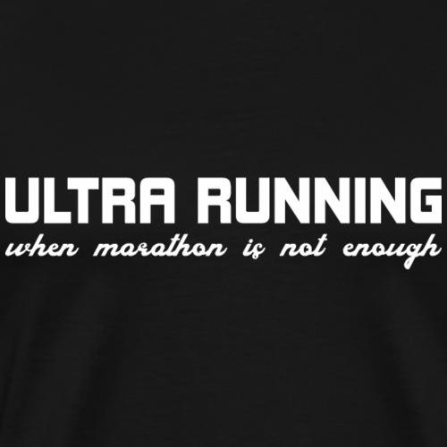 Trailrunning Ultra Marathon Traillauf Shirt Gesche - Männer Premium T-Shirt