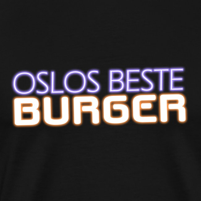 Oslos Beste Burger Logo Merch