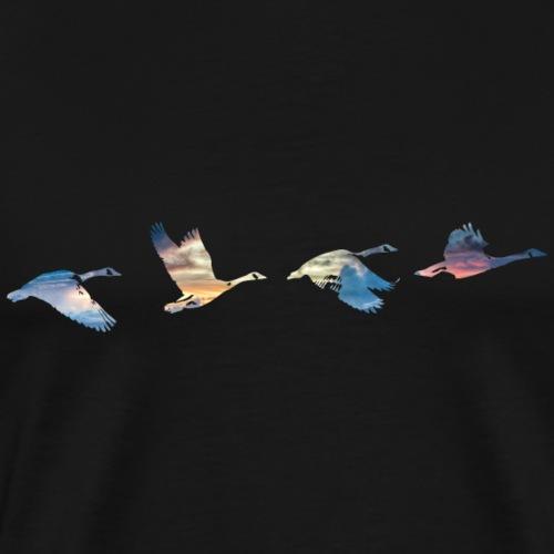 Geese #1 - Men's Premium T-Shirt