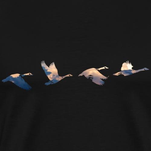 Geese #3 - Men's Premium T-Shirt