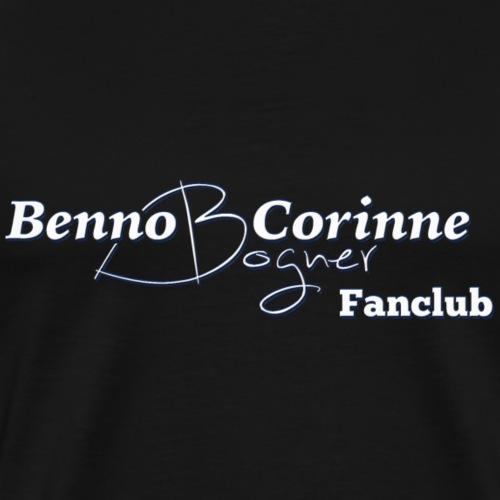 Fanclub Aufschrift Ruecken - Männer Premium T-Shirt