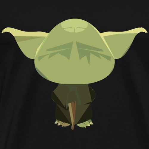 Old Master Yoda - Men's Premium T-Shirt