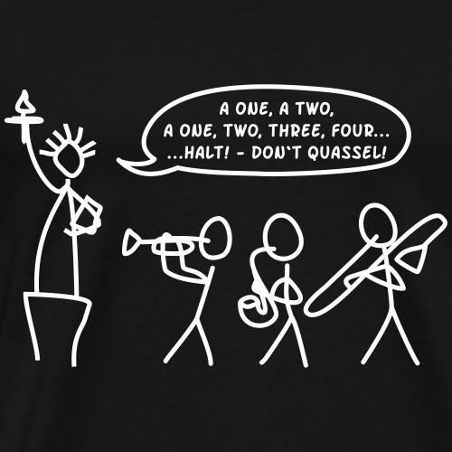 USA 2 quassel v7 nur comic - Männer Premium T-Shirt