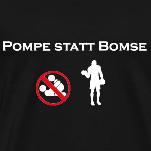 bomse png weiss - Männer Premium T-Shirt