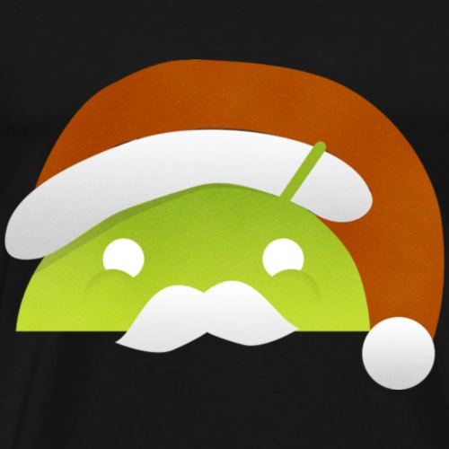 logo noel android - T-shirt Premium Homme