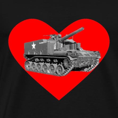 Heart M44 Large - Men's Premium T-Shirt