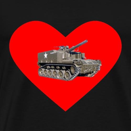 Heart M44 Color - Men's Premium T-Shirt