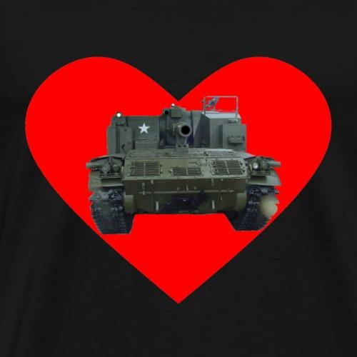 Heart M44a - Men's Premium T-Shirt