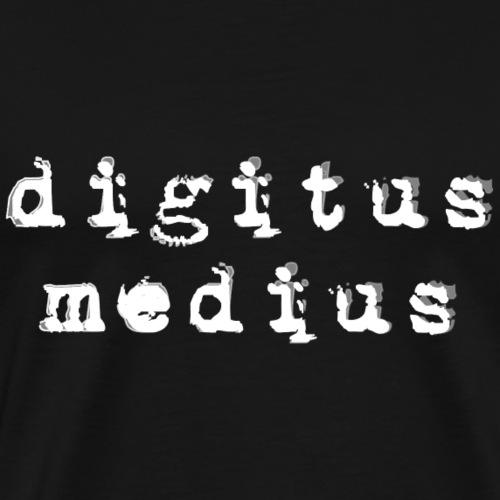 Digitus medius , Arzt, Medizin, Student - Männer Premium T-Shirt