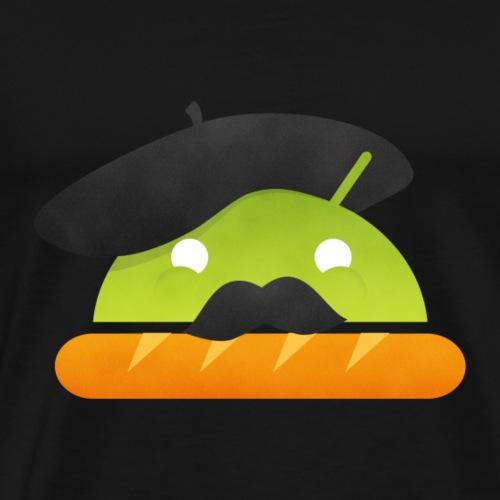 Android France Baguette - T-shirt Premium Homme