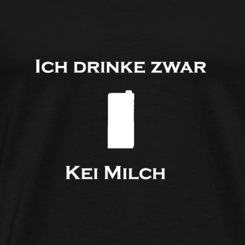 kei milch weiss png - Männer Premium T-Shirt