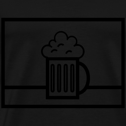 Biernachschub Bundeswehr taktisches Zeichen - Männer Premium T-Shirt