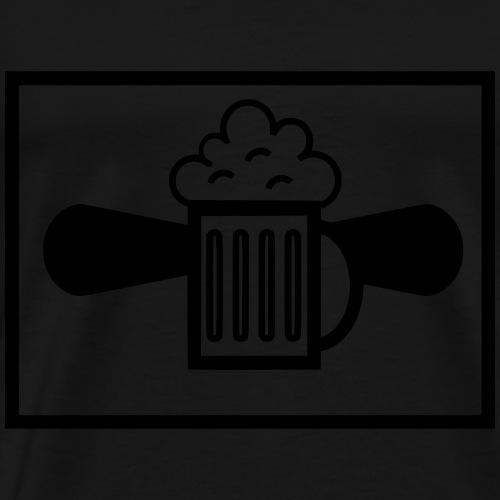 Bierflieger Bundeswehr taktisches Zeiche - Männer Premium T-Shirt