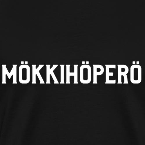 mokkihopero - Miesten premium t-paita