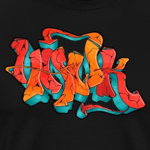 Hawk Print - Männer Premium T-Shirt