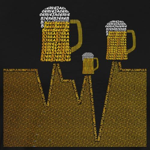 Cerveza Internacional V3 Color - Camiseta premium hombre