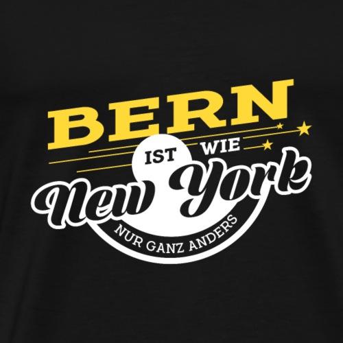 Bern ist wie New York nur ganz anders - Männer Premium T-Shirt