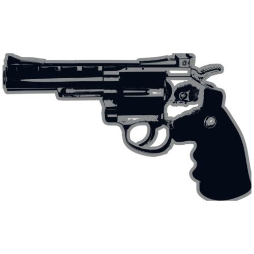 Revolver Gun - Men's Premium T-Shirt