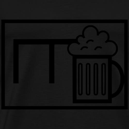 Bieronier Bundeswehr taktisches Zeichen - Männer Premium T-Shirt
