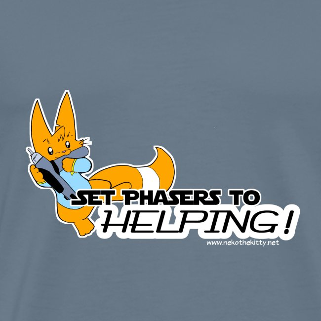 Set Phasers to Helping