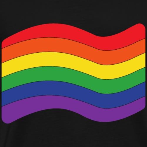 Regenbogenflagge | LGBT | Pride - Männer Premium T-Shirt