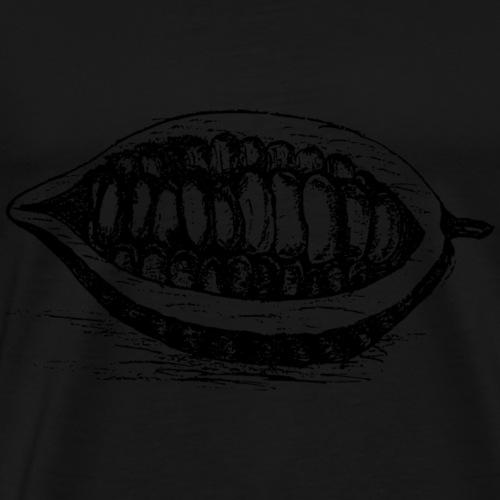 Kakao bohne - Männer Premium T-Shirt