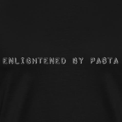 enlightened by pasta - Men's Premium T-Shirt