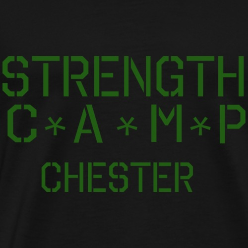 strength camp green - Men's Premium T-Shirt