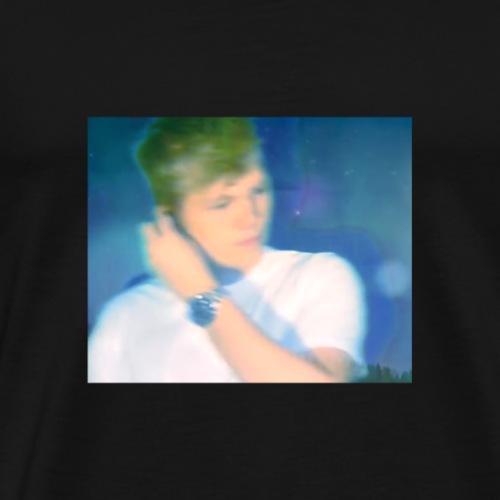 SELVPORTRETT (SexyTime Collection) - Premium T-skjorte for menn