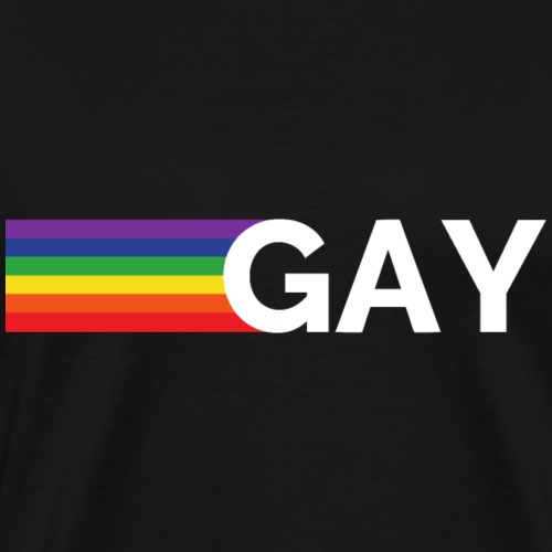 Gay | Regenbogen | LGBT - Männer Premium T-Shirt
